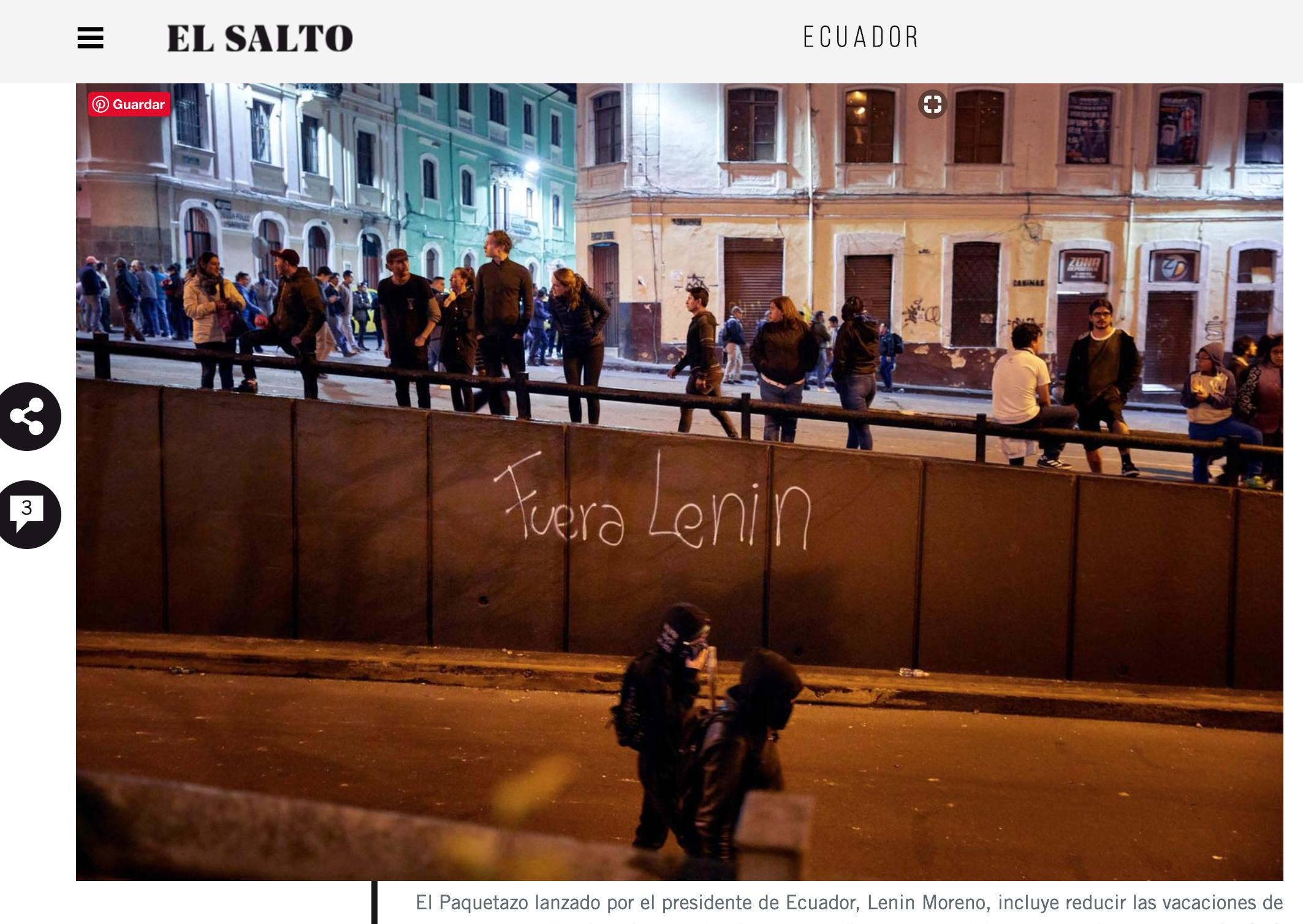 EL SALTO - 2019 - Publication - web + print