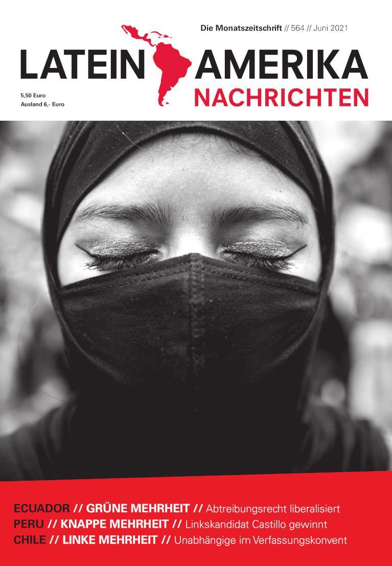 LATEIN AMERIKA NACHRICHTEN - 2021 - Frontpage Publication - web + print