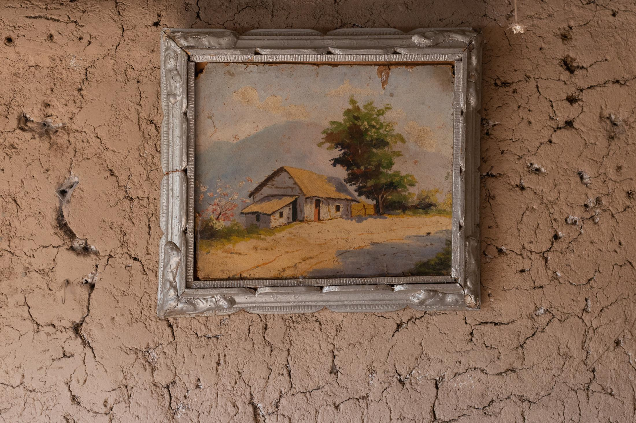 January, 2nd, 2021. Detail of the interior of a house in Quebrada De Castro. There are fewer and fewer inhabitants in this community due to the drought.