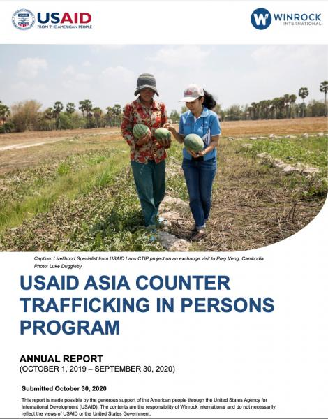 Winrock International  and  USAID   Published: October 2020