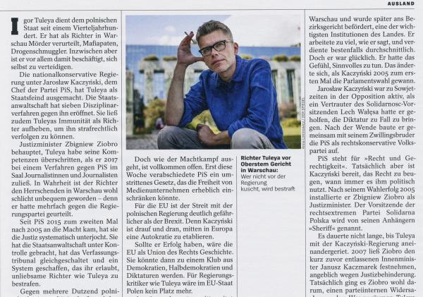 On assignment for Der Spiegel