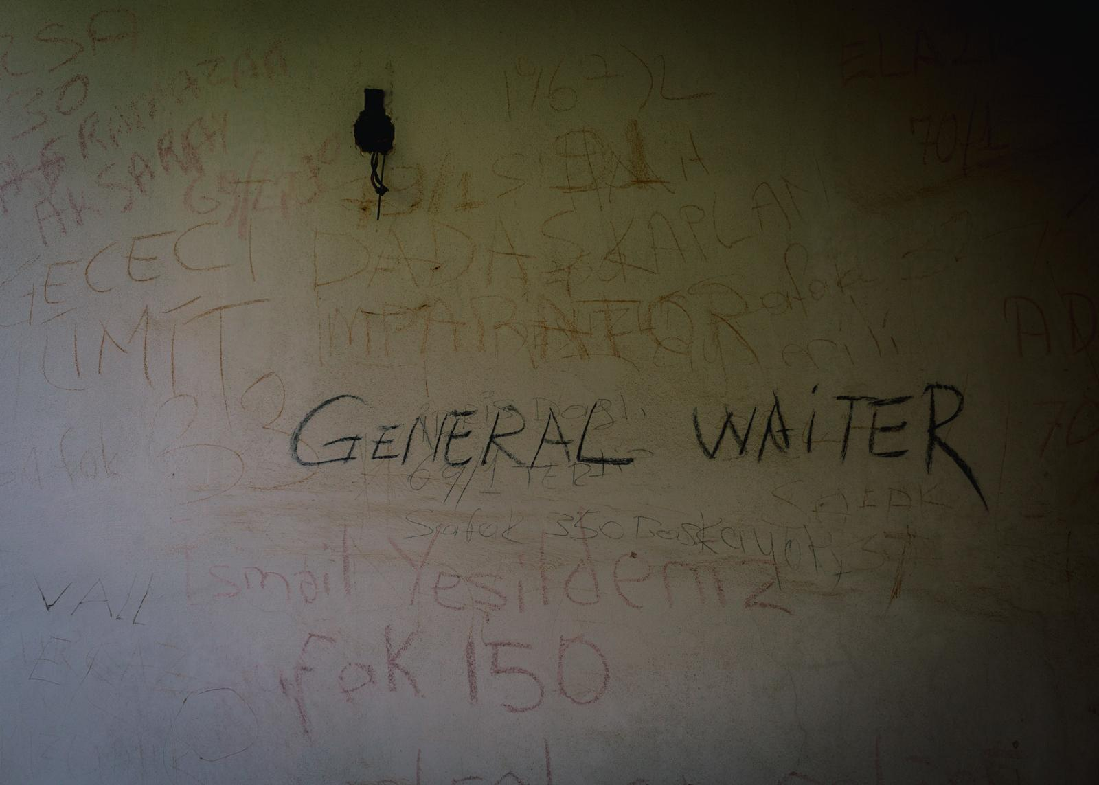 Many of the abandoned houses contain inscriptions of Turkish soldiers who spent their military service in the ghost town.
