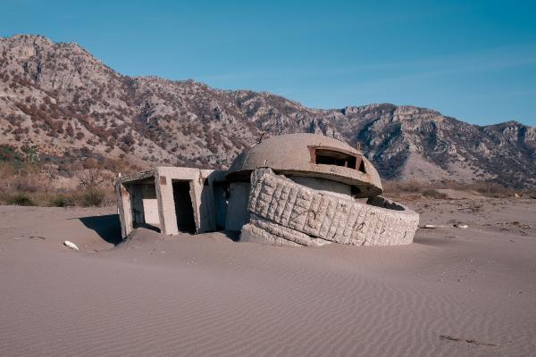 Albanian Bunkers for Nieuwe Revu
