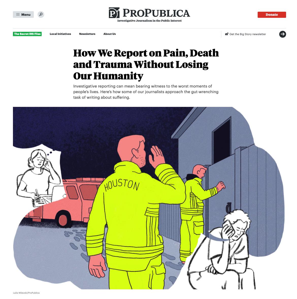 Laila Milevski/ProPublica