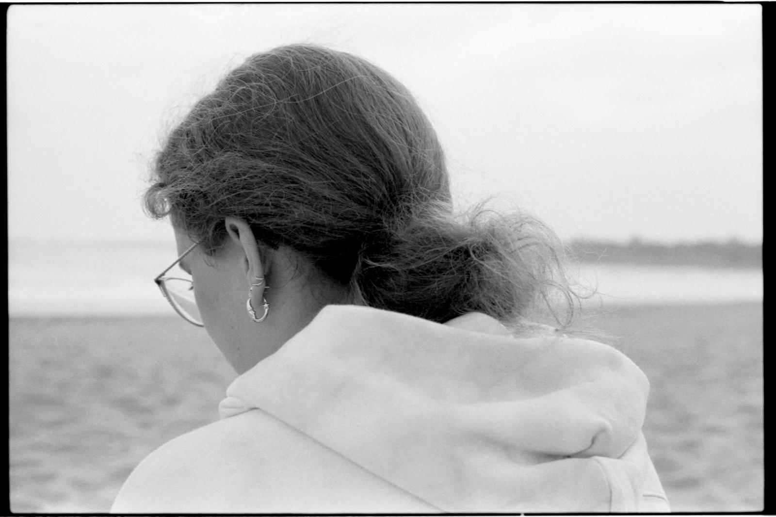 Zandra at the Beach. May 2021.