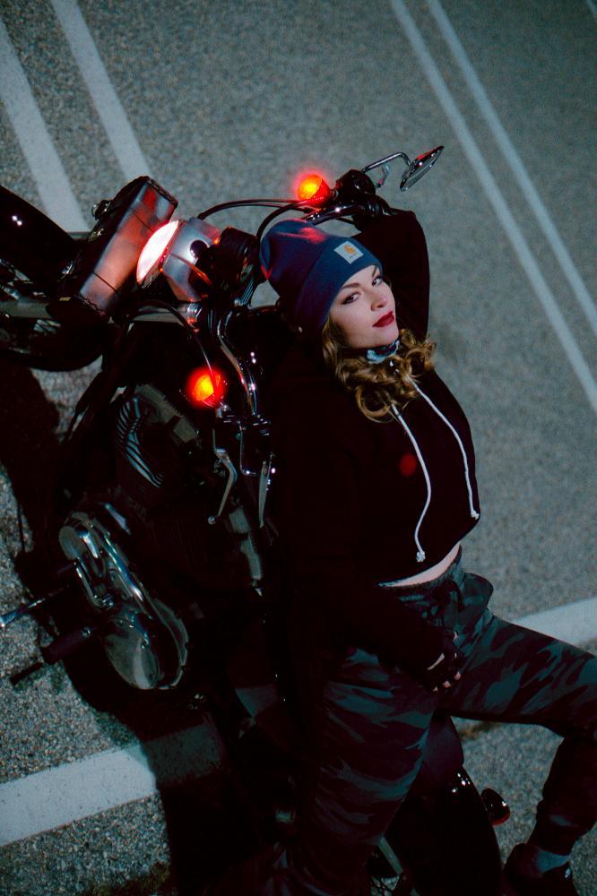 Brittany on her Bike, 2021