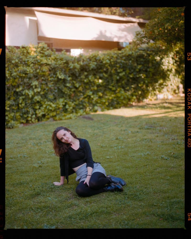 Avery in her Backyard, May 2021