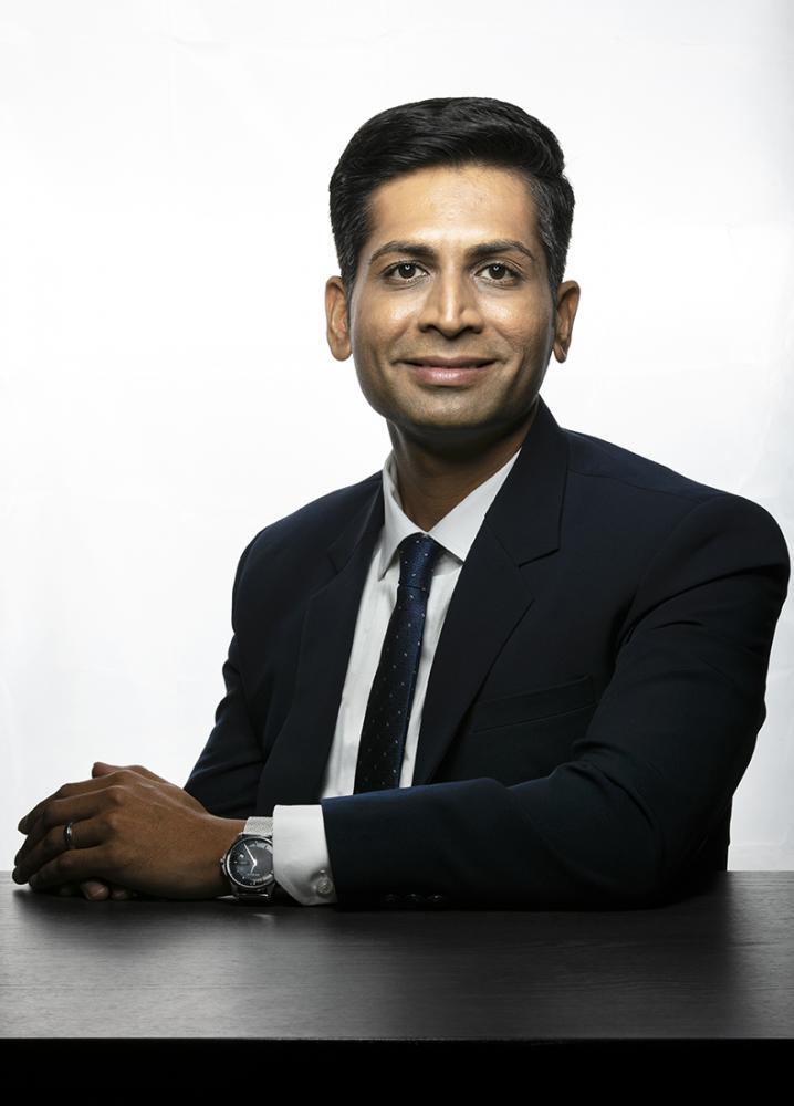 Manish Kheterpal,managing partner ,WaterBridge Ventures at his Bangalore residence on 22.05.2021. Photo by Selvaprakash Lakshmanan for Forbes India 22.05.2021