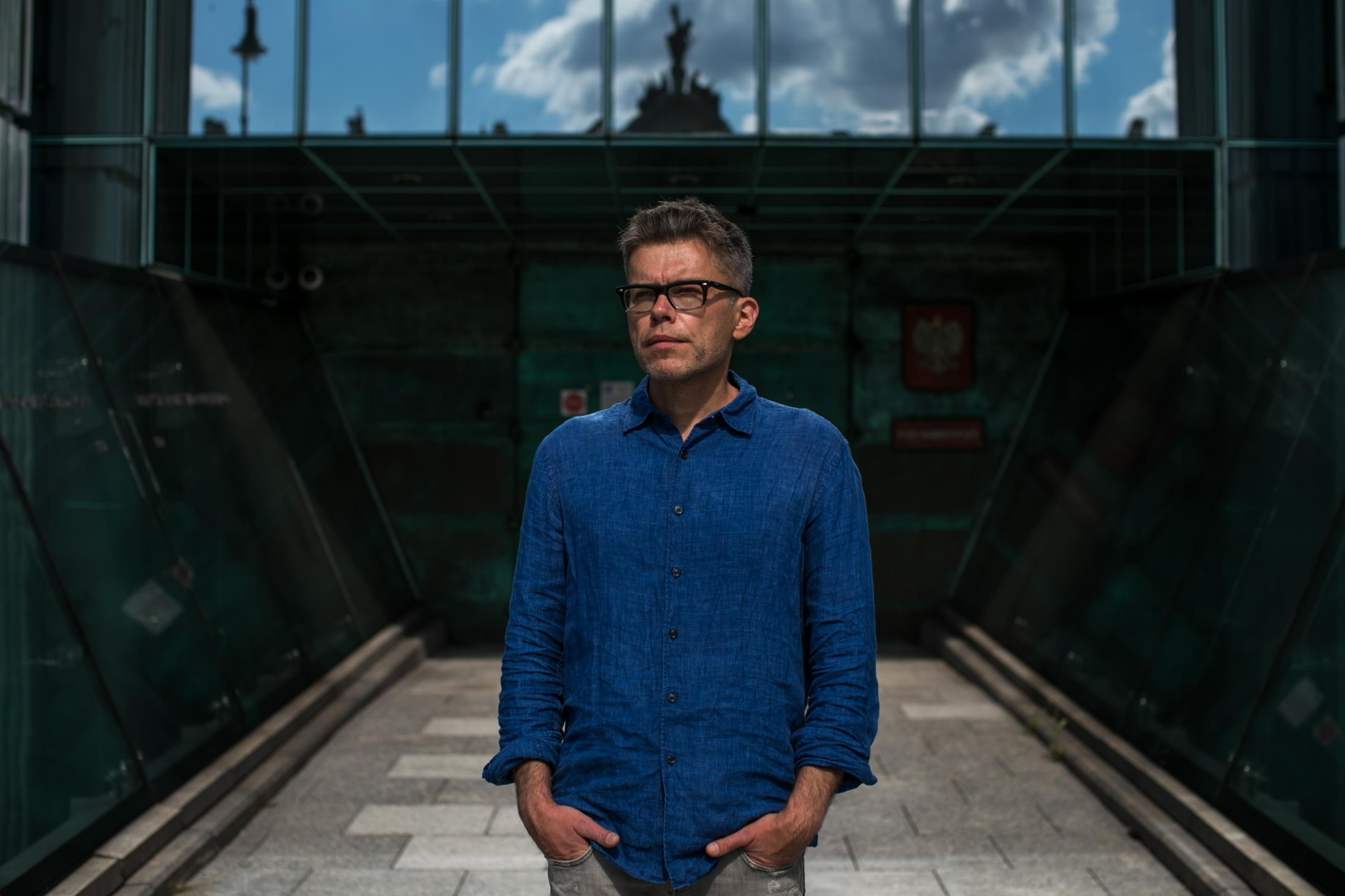Ex-judge Igor Tuleya Portrait on assignment for Der Spiegel