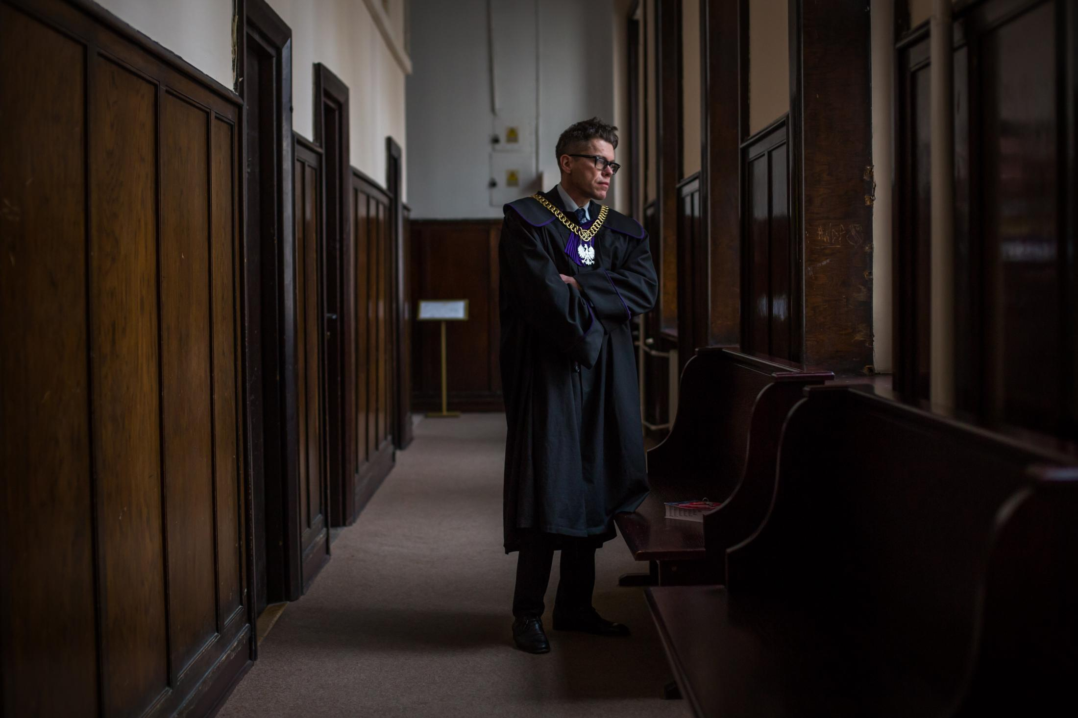 Igor Tuleya Portrait on assignment for The New York Times