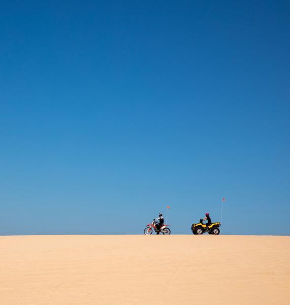 Sand Dunes of Silver Lake, Michigan