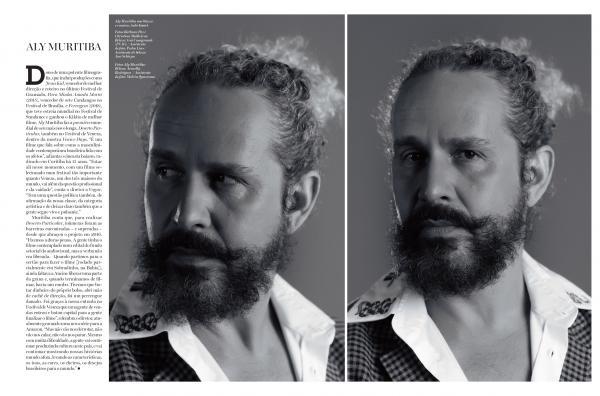 Aly Muritiba para  Vogue de Setembro