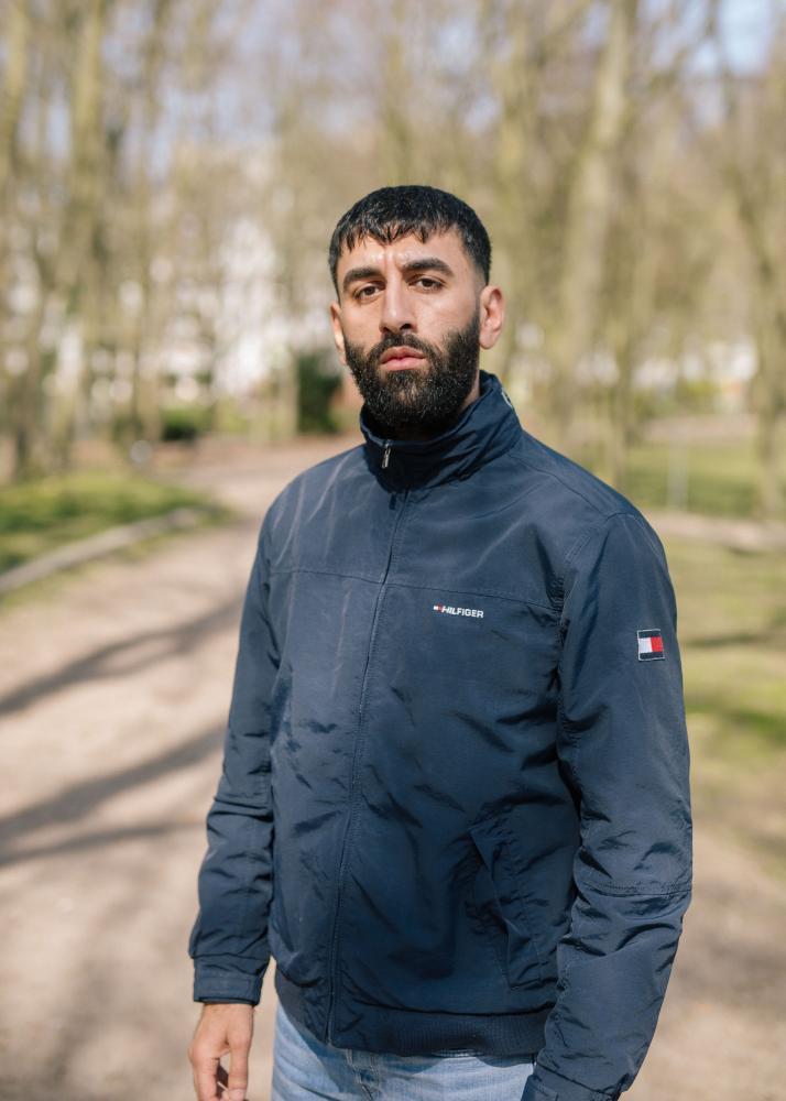 Barsan Mehdi, cousin of Qosay Khalaf, who died after police custody, Delmenhorst