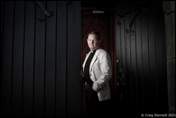 Senior Public Prosecutor Thomas Will stands in one of the file rooms detailing investigative foreign correspondence over Nazi's from WW 2 at the Central Office of Land Judicial Authorities For The Investigation of National Socialist Crimes.  Photographed for The Daily Telegraph (UK)