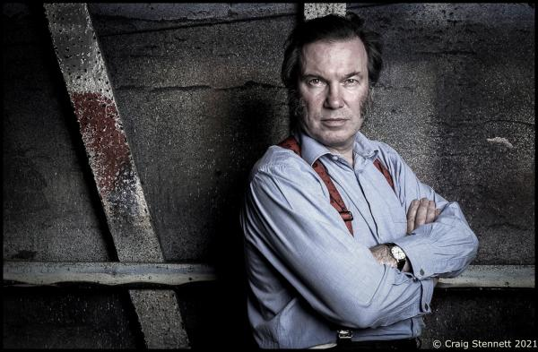 David Pountney at Opera North in Leeds.  Photographed for The Times (UK)