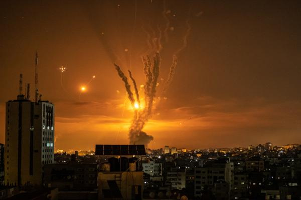 11 Days of Israeli—Palestinian Conflict in Gaza City