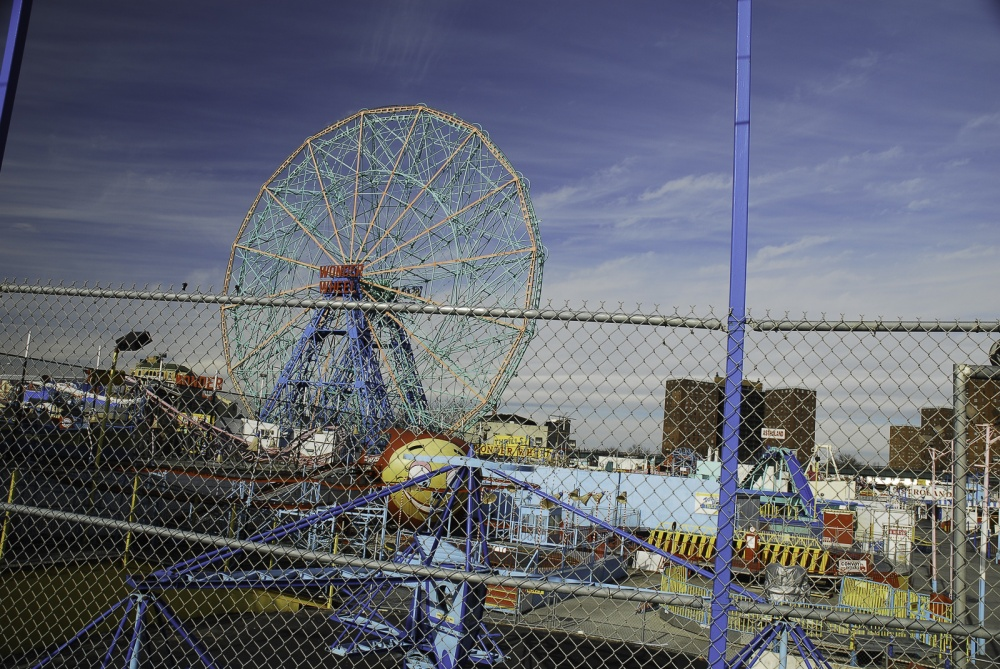 January 13, 2008. Theme park Astroland closed in September of the same year.