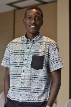 Davis Blair Mugume Photo